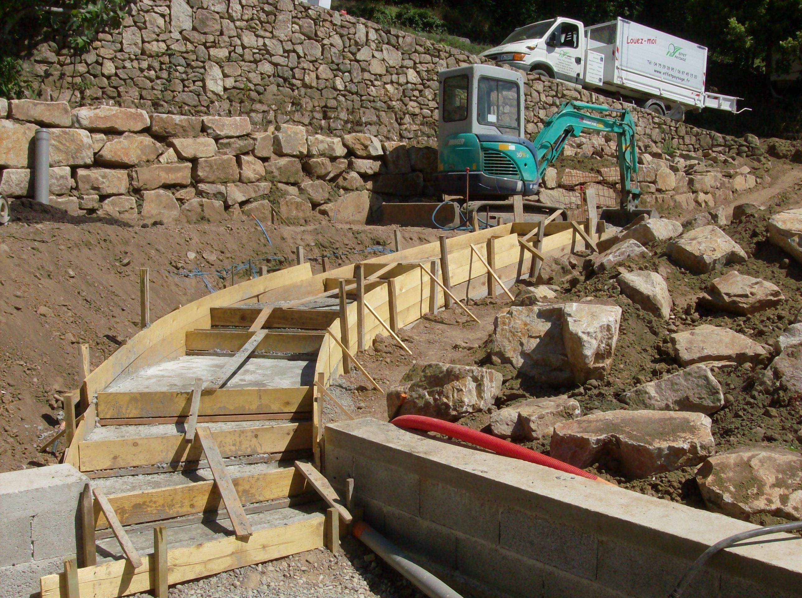Escalier paysager good conception duun escalier paysag for Escalier paysager entree maison
