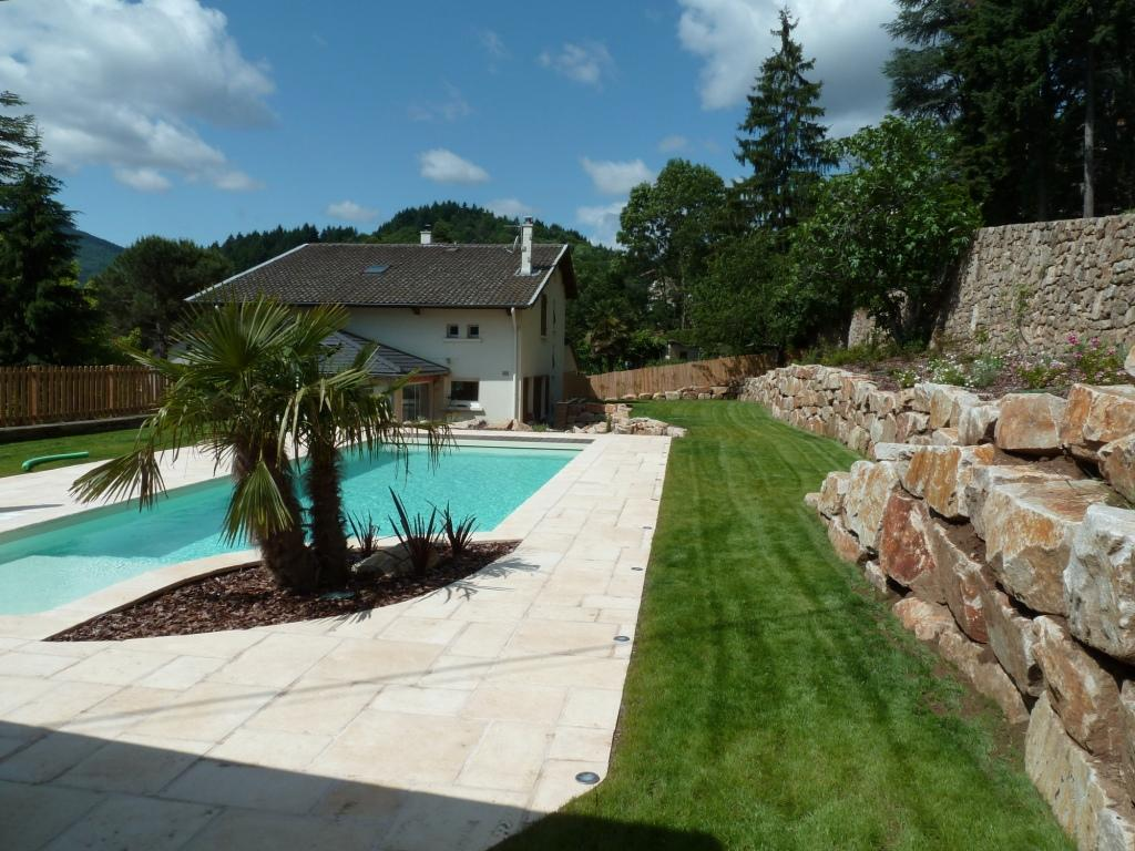 Amenagement jardin et piscine id es de for Amenagement jardin piscine